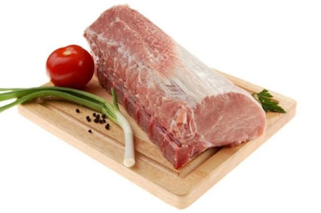 chế biến thịt lợn