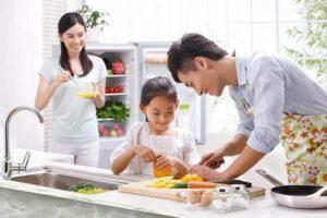 học các khoá nấu ăn