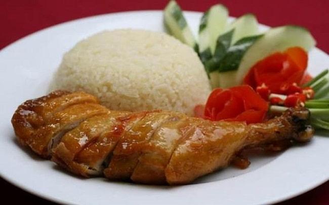 cơm gà thượng hải ngon